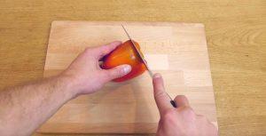 sposob na krojenie papryki - 1