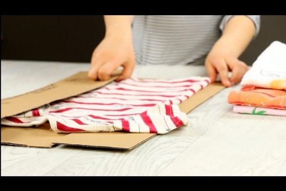 Urządzenie do szybkiego składania koszulek